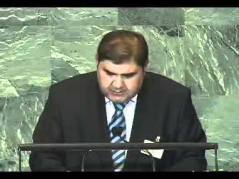 Выступление Элёра Ганиева в ООН
