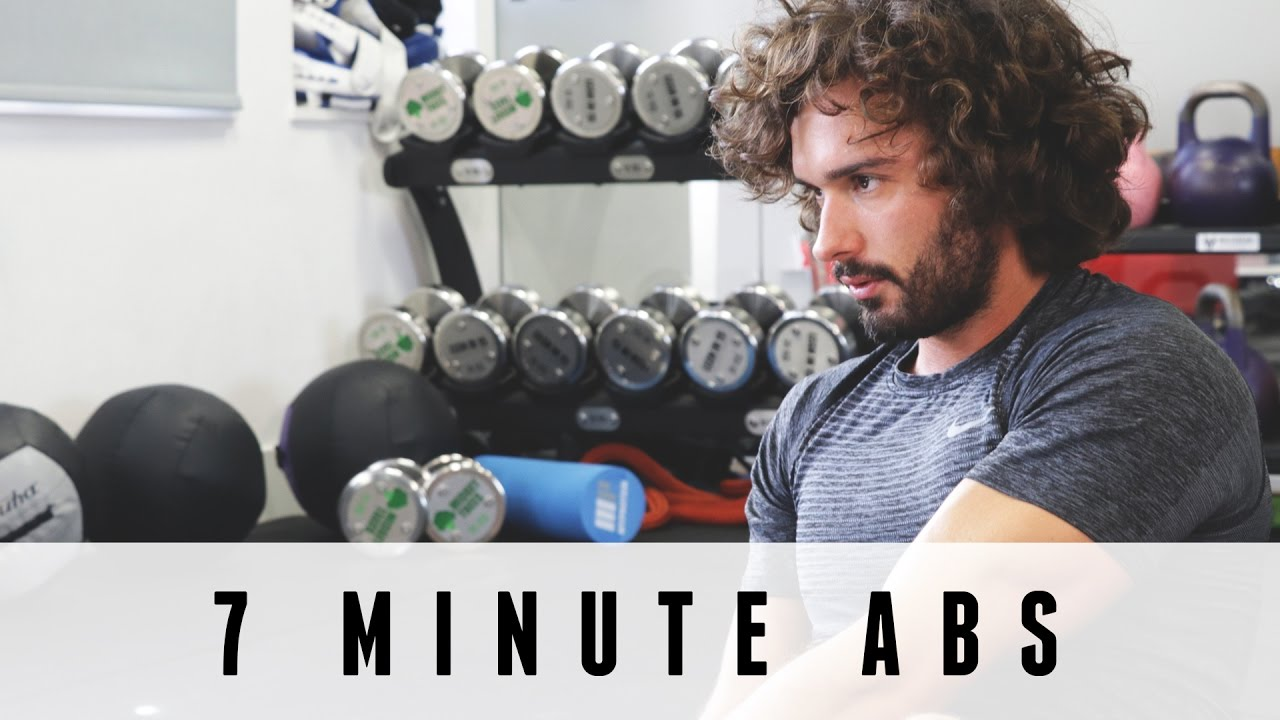 7 Minute Abs Workout The Body Coach