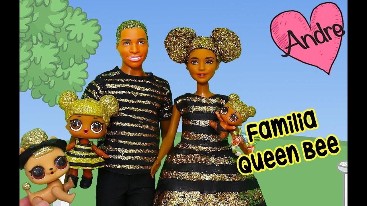 Lol Andre Pone La Bee Para Niñas Con Familia Niños Y Juguetes Queen BrillitosMuñecas wlPuOXTZki