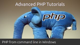 PHP Command line: how to run PHP from command line in Windows