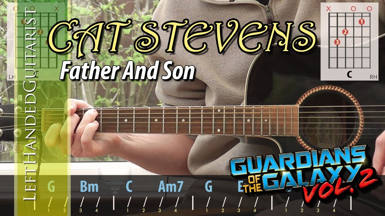 Cat Stevens Father And Son Guitar Lesson Youtube