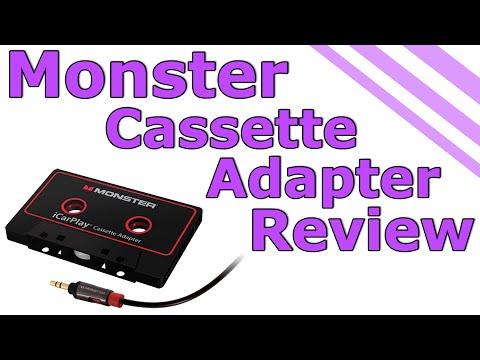Monster iCarPlay Cassette Adapter Review/Destruction