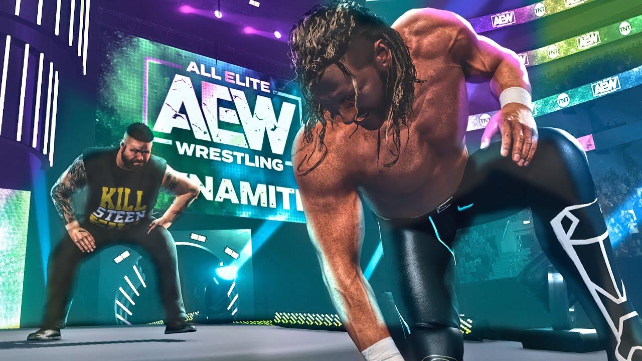 Kevin Owens Debuts on AEW Dynamite as KEVIN STEEN! (WWE 2K Universe Mods)