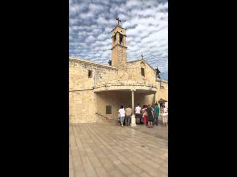 Greek Orthodox Church Of Annunciation Nazareth Israel