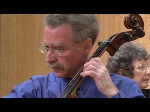 Prokofiev Cello Sonata, Third Movement, with Hamilton Cheifetz and Janet Guggenheim