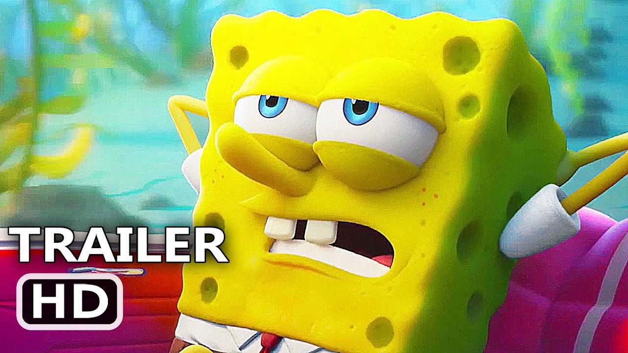 THE SPONGEBOB MOVIE 2 Ficial Trailer 2020 Sponge On The Run SpongeBob SquarePants Movie HD