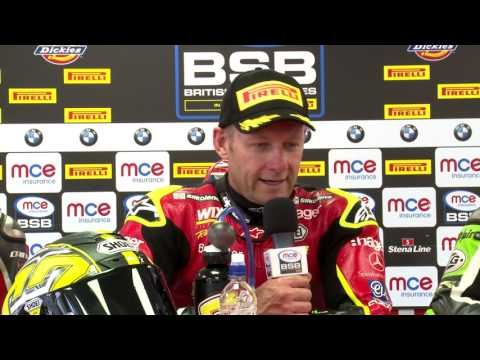 2017 MCE British Superbike Championship, RD6 Race 1 Press Conference