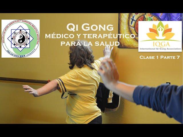 Ejercicios de elongación, calentamiento y estiramiento en Qi Gong y Tai Chi Kung | Clase 1 parte 7