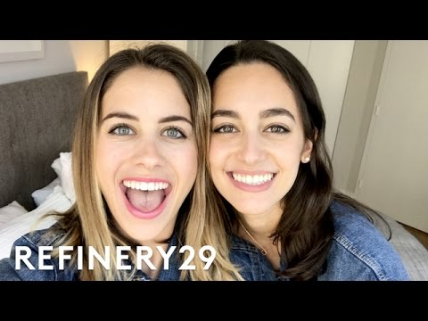 Meet Lucie Fink's Twin Sister, Allie Fink | Lucie Vlogs | Refinery29