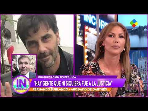 Picante cruce entre Burlando y Celina Rucci en #Incorrectas por la defensa de Juan Darthés
