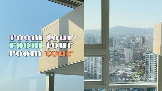 vlog. 첫 자취 로망 실현 과정 / 5평 복층 원룸…