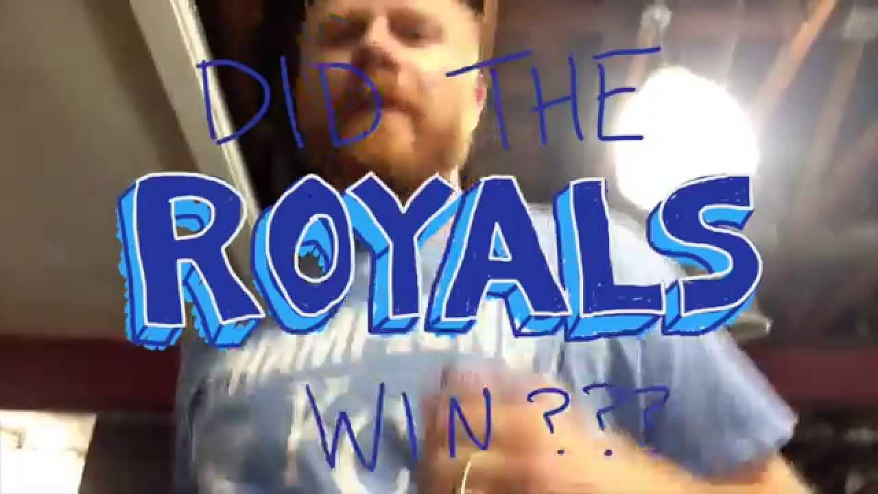 Did The Royals Win Yesterday