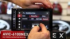 "Pioneer's new AVIC 6100NEX 6 2"" Navigation radio with Bluetooth, Carplay, DVD, and HD Radio"