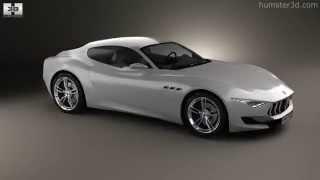 Maserati Alfieri 2014 by 3D model store Humster3D.com