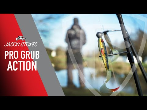 ***FOX RAGE TV*** HOW TO FISH PRO GRUBS FOR PERCH
