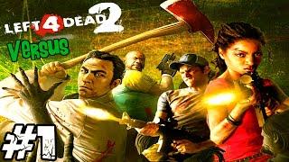 [LUŹNE GRANIE] Left 4 Dead 2 #1 - Tryb Kontra (Versus), POGROM! Bo Dobra Strategia to podstawa!