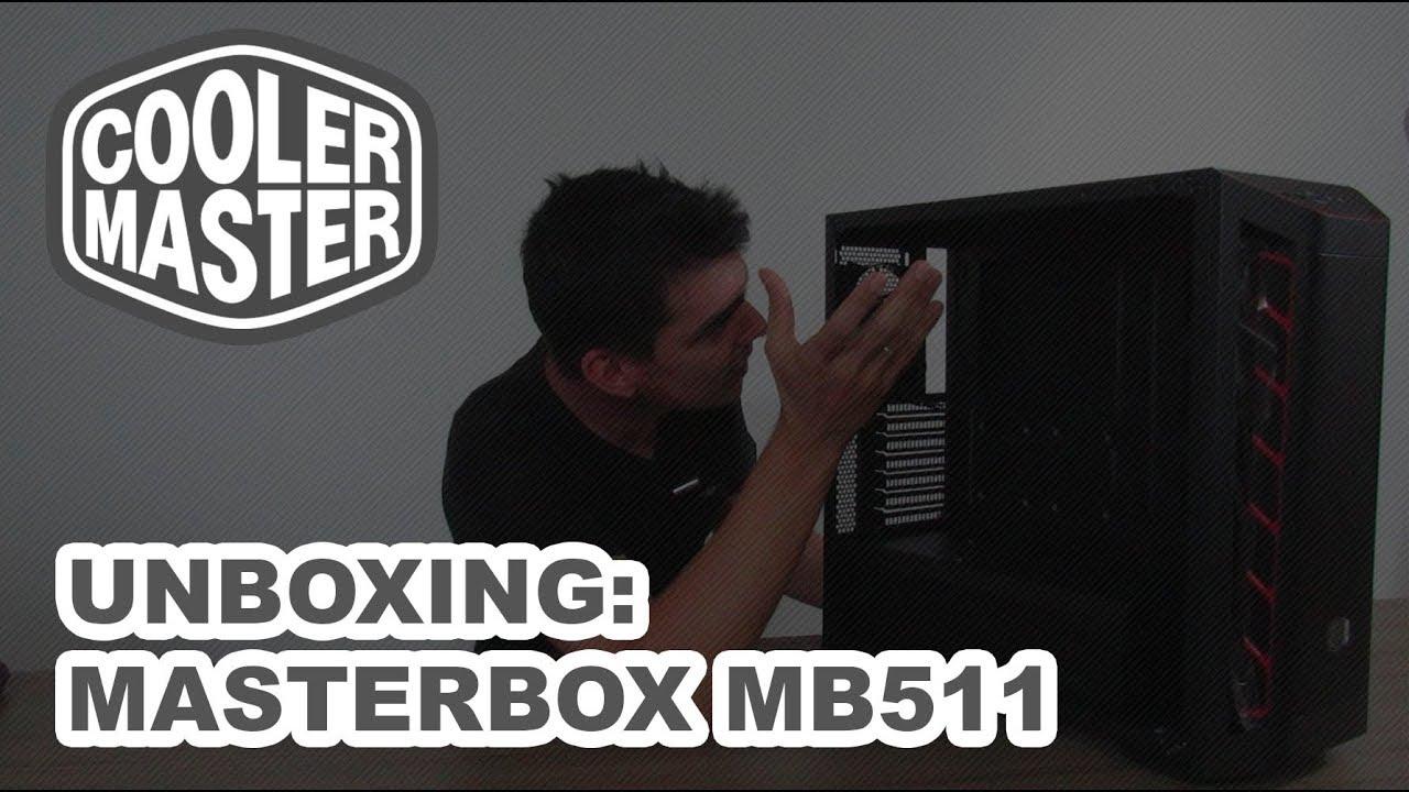 Unboxing - Gabinete Cooler Master Masterbox MB511
