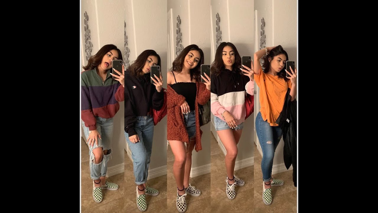 5 CUTE BASIC OUTFITS FOR SCHOOL