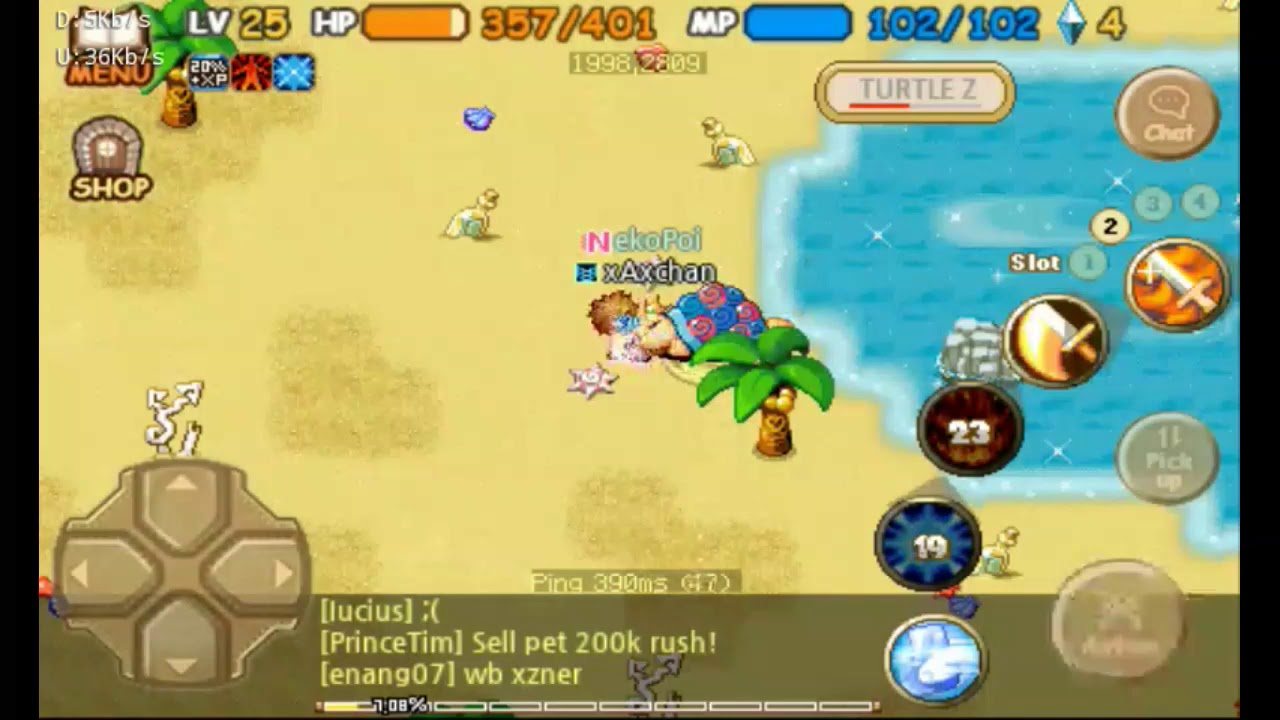 IMO TWOM : Repair woopa staff n meet turtle z - YouTube