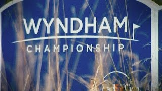 Highlights | Three in the lead with Tiger Woods close behind at the Wyndham Championship