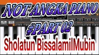 Not Angka Sholatum Bissalamil Mubin