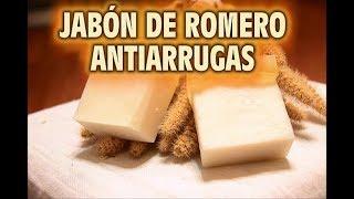 JABÓN DERMATOLOGICO ANTIARRUGAS DE ROMERO, ELIMNA MANCHAS DE LA PIEL