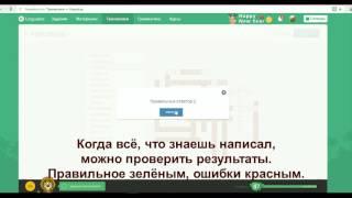 LinguaLeo Кроссворд
