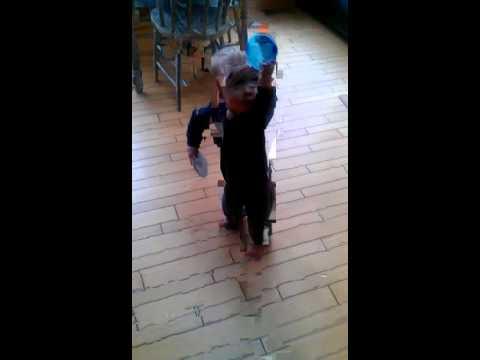 Quinn dancing to Up to Me Fenian Raid Demo