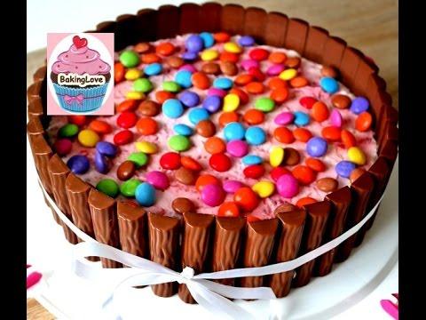 Diy Muttertagstorte Iii Yogurette Torte Candy Cake Erdbeer