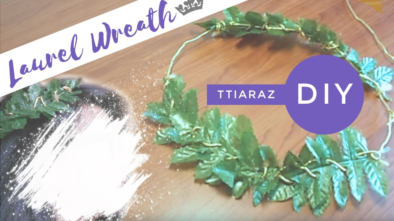 DIY Laurel Wreath TTiaraZ