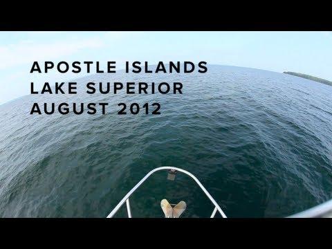 Sailing the Apostle Islands