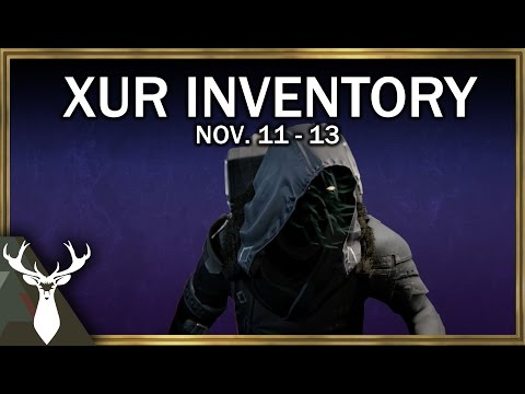 Xur Inventory Review (Nov. 11 - 13)