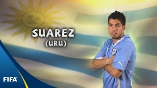 Luis Suarez - 2010 FIFA World Cup