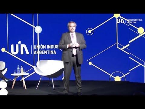 """""""Vamos A Ayudar A Los Que Producen Y A Poner En Marcha La Economía"""", Dice Alberto Fernández En UIA"""