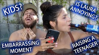 TIPSY Q&A in a HOT TUB with LAURA LEE