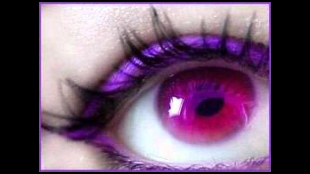 people with purple eyes.wmv - YouTube