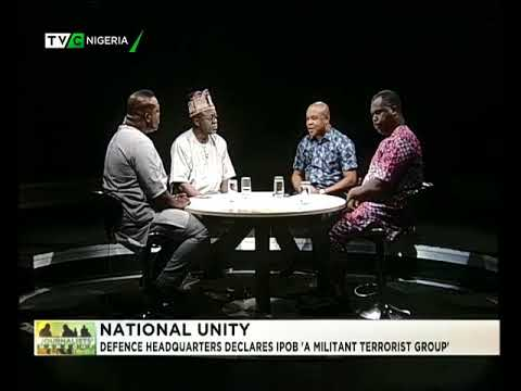 Journalists Hangout 15th September 2017 | DHQ declares IPOB Militant Terrorist Organisation
