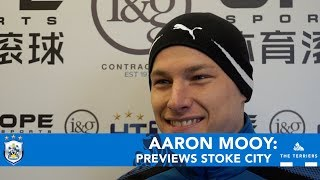 WATCH: Aaron Mooy spoke to HTTV to preview Stoke City