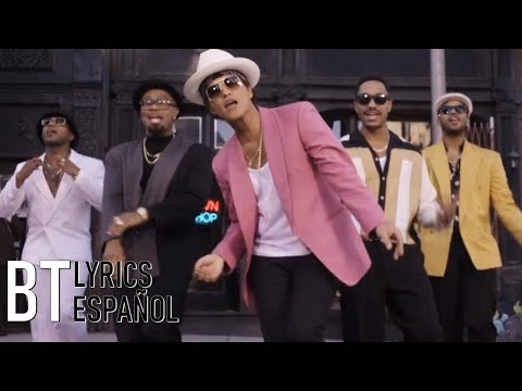 Mark Ronson - Uptown Funk ft. Bruno Mars (Lyrics + Español) Video Official