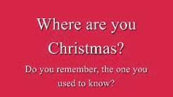 Faith Hill - Where Are You Christmas (Lyrics)