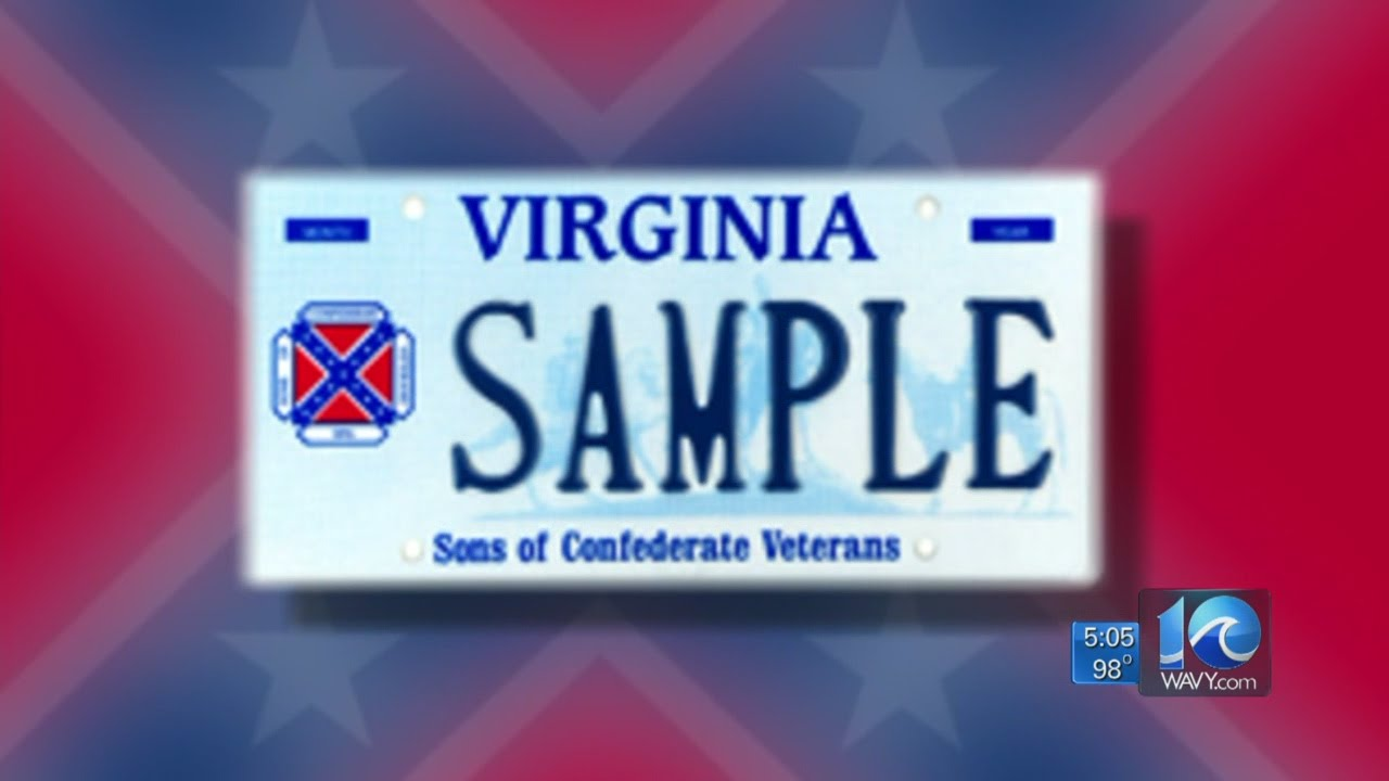Andy Fox on Confederate flag plates in Virginia - YouTube