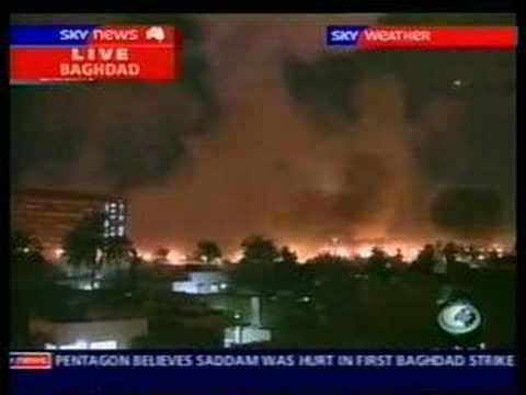 Sky News - Shock & Awe Iraq