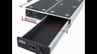 Check out the Adventure Kings Titan 1300mm Drawers