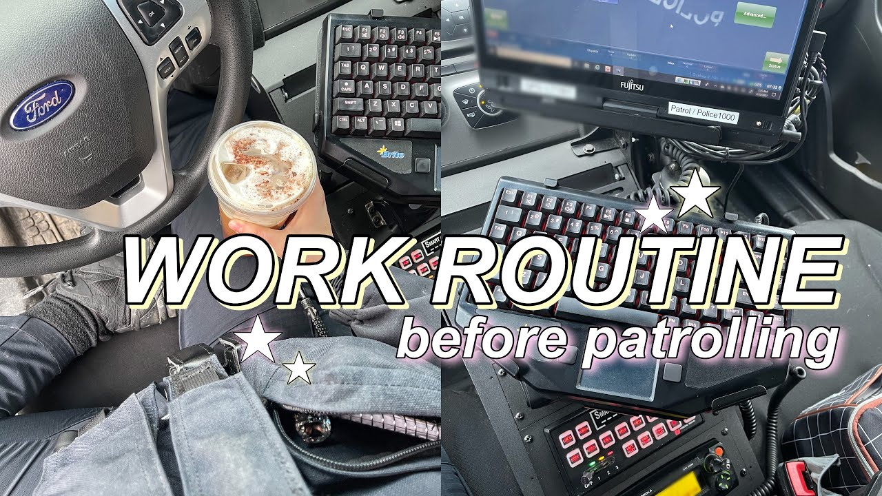 Download DAY IN THE LIFE OF A POLICE OFFICER | day shift routine before patrol + days off | Stefanie Rose