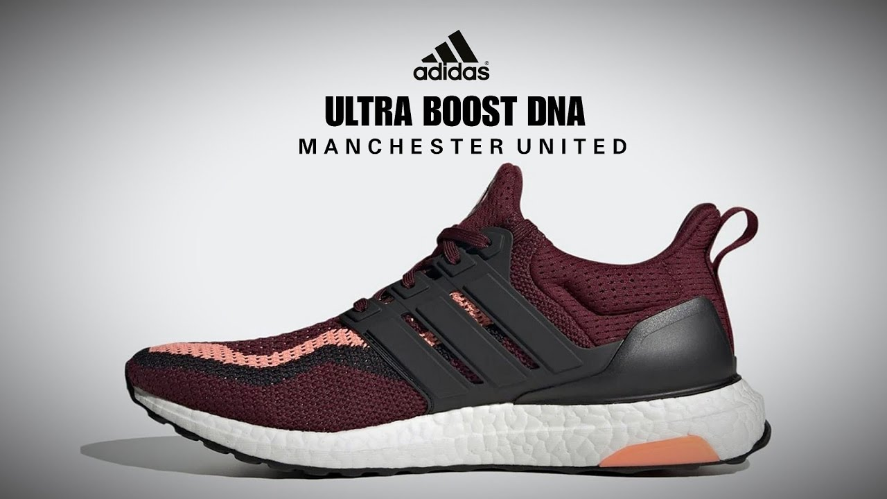Adidas Ultra Boost Dna Manchester United Detailed Look Price Release Date Football Manchester Youtube