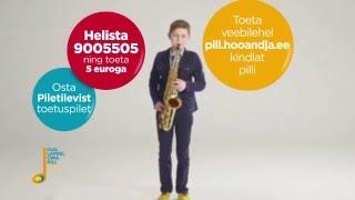 Igal lapsel oma pill - kingitus Eesti Vabariigi 100. sünnipäevaks (saksofon)