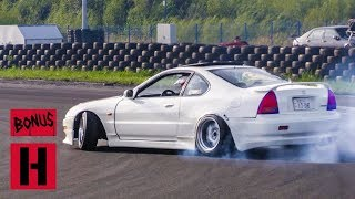 RWD Honda Prelude Turbo Drift Machine!