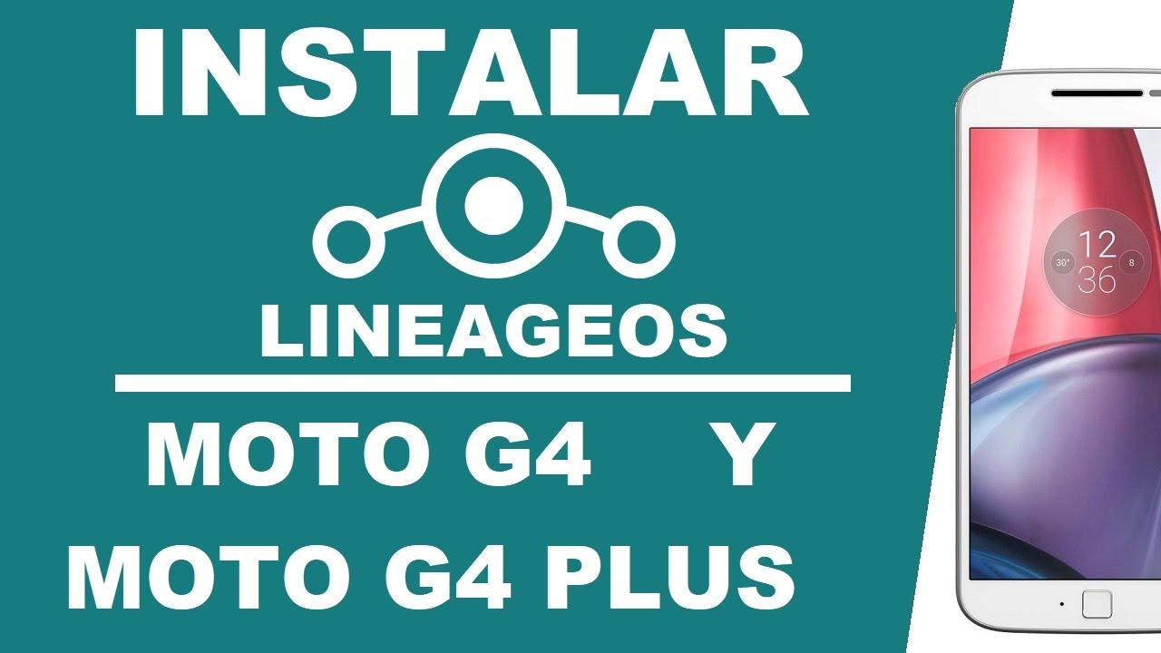 Moto G4 Lineageos