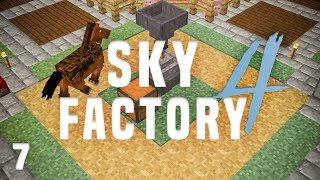 SkyFactory 4 Ep. 7 Alloy Tank + Horse Power