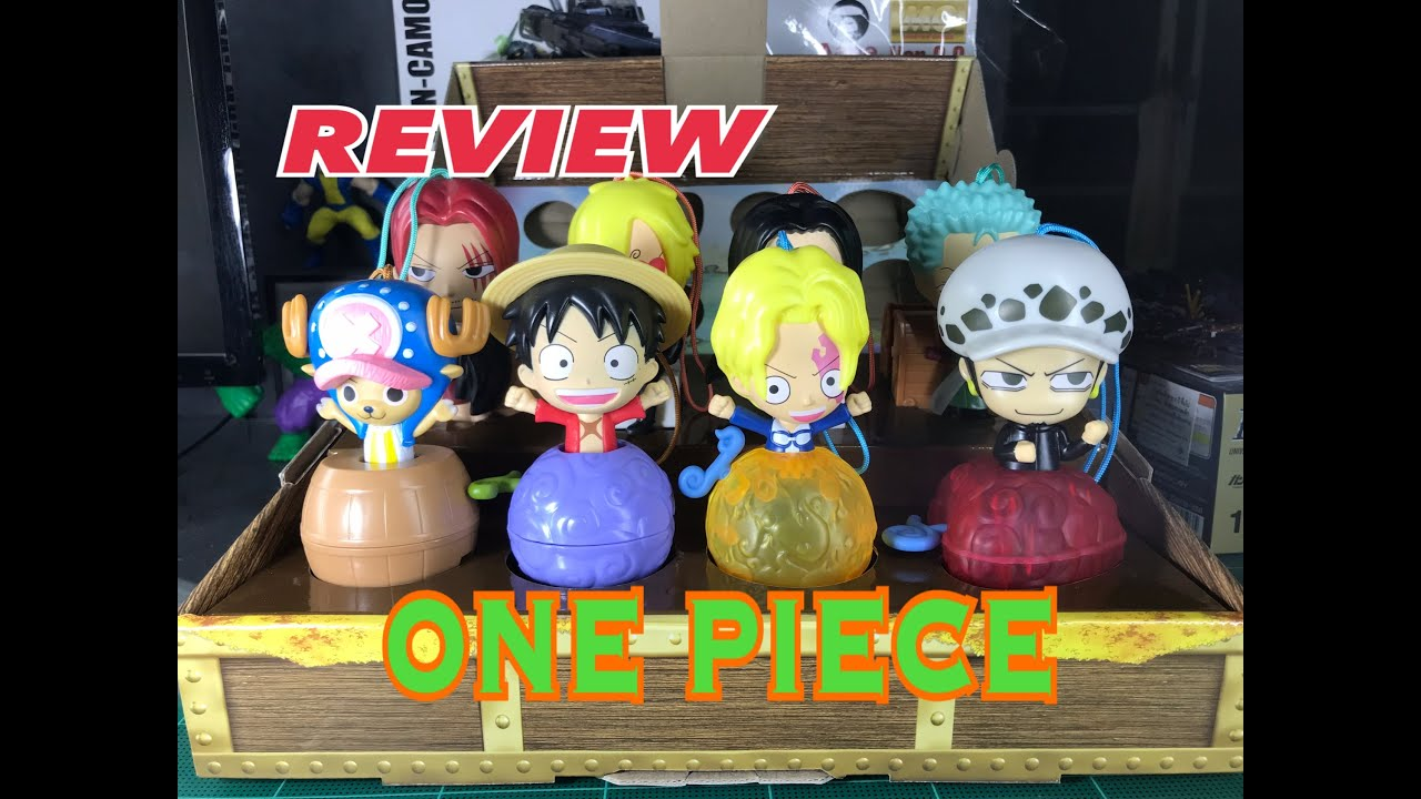 รีวิวแมคโดนัล ชุด วันพีซ REVIEW McDonald's Happy Meal One Piece